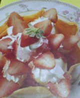 イチゴのマッドパイ