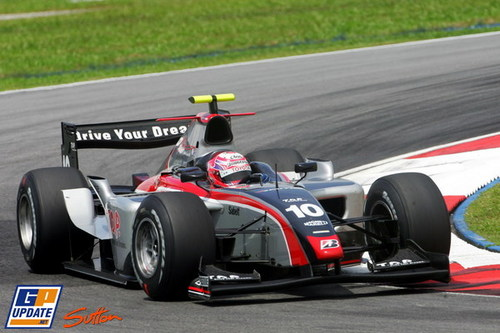 GP2マレーシア可夢偉