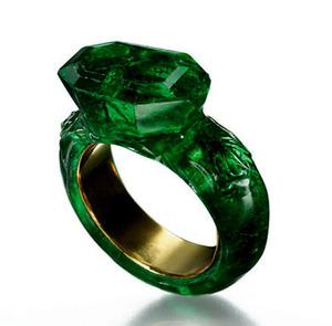 34 Emerald Ring