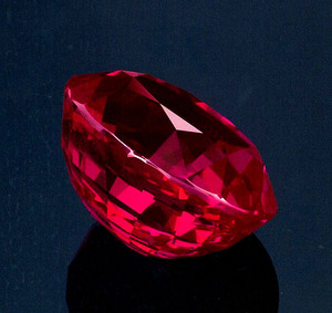 13.21ct Burma Mogok Ruby side view