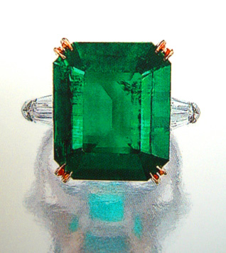04cts Natural Emerald SSEF