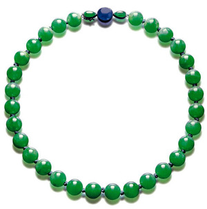 435 Jadeite bead Necklace
