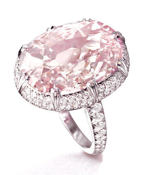467 10.46cts Light Pink IF Type2a Golconda