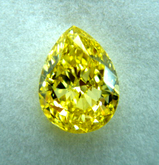 1.5ct size Fancy Vivid Yellow