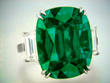 Hong Kong Christies 14.31ct Natural Colombian Emerald