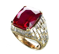 8.62ct Bulgari Ruby Ring