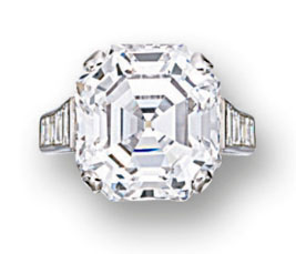 Lot.2850 14.43ct D IF by Cartier