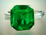 Hong Kong Christies 8.81ct Natural Colombian Emerald