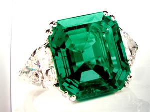 79cts Colombian Emerald Minor Gubelin