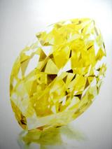 18.13cts Fancy Vivid Yellow VVS2