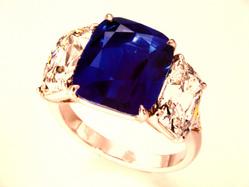 2416 7.35ct Burma Sapphire UT AGTA