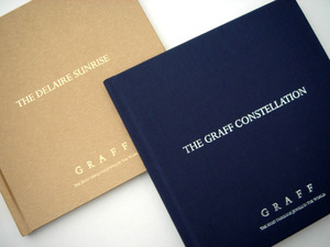 Books of Graff Constellation and Delaire Sunrise