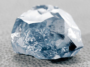 The Blue Moon Diamond Rough