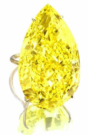 506 PS 110.03cts F. V. Yellow VVS1