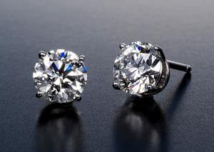 2cts size Diamond studs