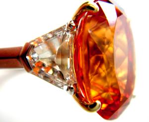 Mandarin Garnet サイドストン