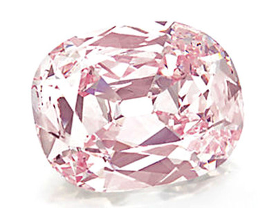 Princie Diamond 34.65ct Fancy Intense Pink VS2