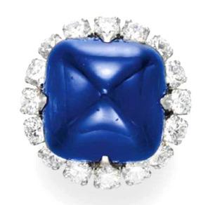 Lot.225 Kashmir Sapphire 31.53ct by VCA
