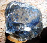 26.58cts Blue Diamond Rough