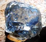 26.58cts Blue Diamond Rough