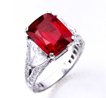 8.62ct Graff Ruby Ring