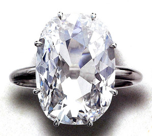 Golconda 6.13ct D IF Old mine brilliant-cut