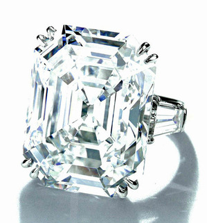 318 Diamond EM 21.09ct D VVS1 Pot. TF Type�a by H.W.