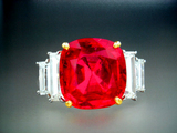 Hong Kong Christies 6.30ct Natural Burma Ruby