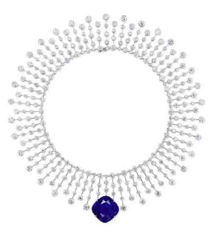 44.53ct Burma Sapphire Necklac by Cartier
