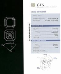 08cts Delaire Sunrise GIA Grading Report