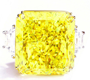 478 54.20cts Fancy Vivid Yellow VS1 EX EX