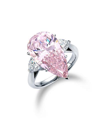 5ct ピンクダイヤモンドリング