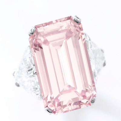 17.03ct Fancy Intense Pink VVS1 pot IF