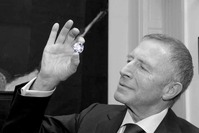 LG holding Constellation diamond