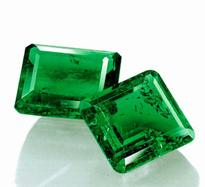 232 Colombian Emerald 17.97+15.99cts