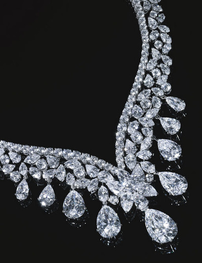 Total 190.77ct Diamonds Necklace by Cartier