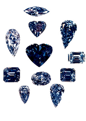 The De Beers Millennium Jewels 11 Blue