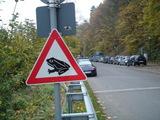 蛙横断注意