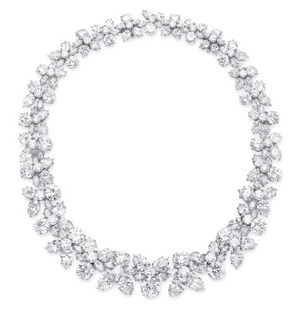 DIAMOND NECKLACE, BY HARRY WINSTON