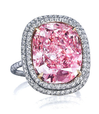16.08ct Fancy Vivid Pink VVS2