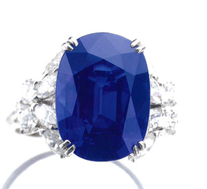 9.47cts Kashmir Sapphire