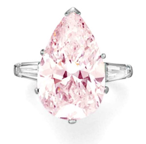 Lot249 PS 10.52ct F. L. Pink SI1 Type�a
