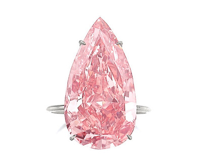 15.38ct Fancy Vivid Pink VVS2 Type IIa