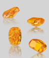 Lot.2669 4.19ct Fancy Vivid Orange VVS1