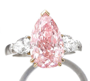 4.59ct Fancy Intense Pink SI2