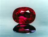 3ct size Burmese Ruby Oval (UT)