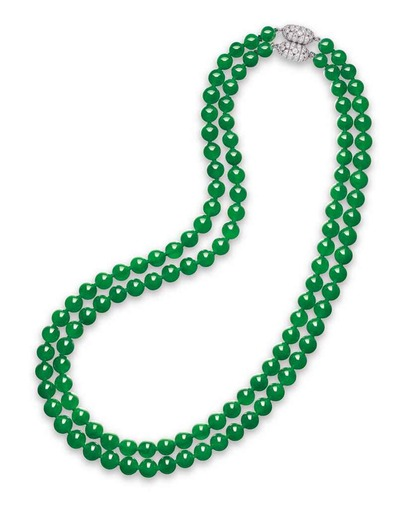 jadeite_bead_and_diamond_necklace