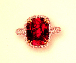 2291 4.04ct Ruby Burma UT SSEF