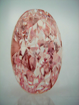 OV 3.86ct Fancy Intense Pink VS1 Type �a