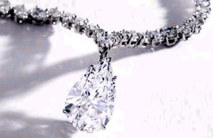10.02ct D IF Type2a + 30ct Nec by Harry Winston